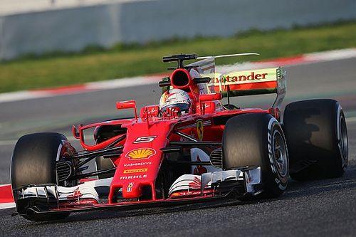 Barcelone, J1 - Vettel devant à la mi-journée, McLaren et Red Bull à l'arrêt