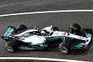 El Mercedes F1 rueda en Silverstone