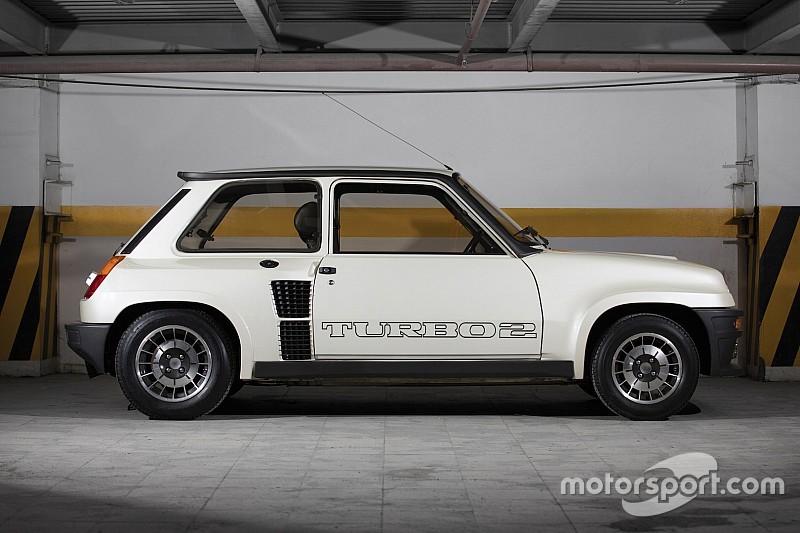 Une Renault 5 Turbo 2 quasiment neuve aux enchères