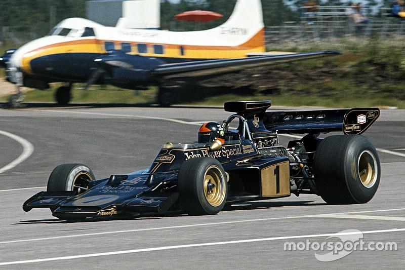 In beeld: 33 keer zwart-goud in de Formule 1
