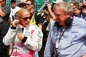 IndyCar Breaking news Pippa Mann to confirm Coyne drive in Indy 500