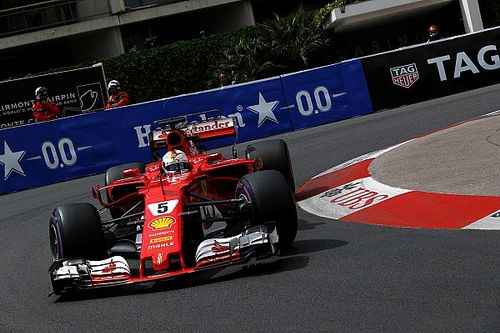 Formel 1 2017 in Monaco: Sebastian Vettel mit Rekordrunde im 2. Training