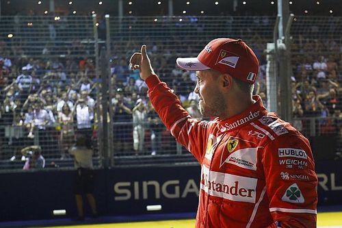 """Vettel destaca emoção ao cravar pole """"inacreditável"""""""