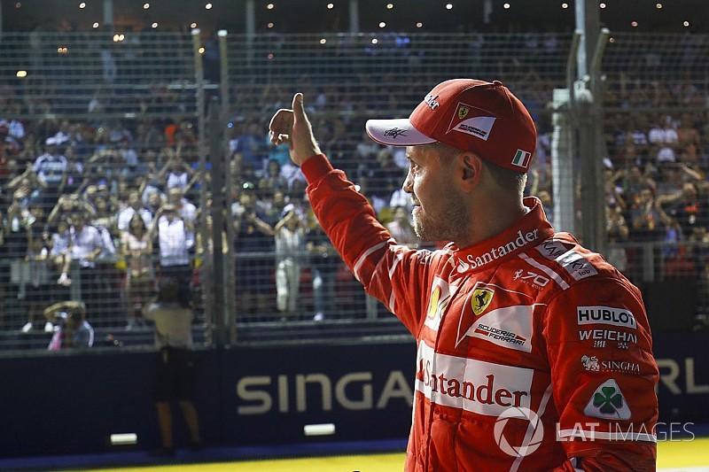 """Vettel: """"Faticavo, ma nel Q2 è come se si fosse accesa la luce. Che pole!"""""""