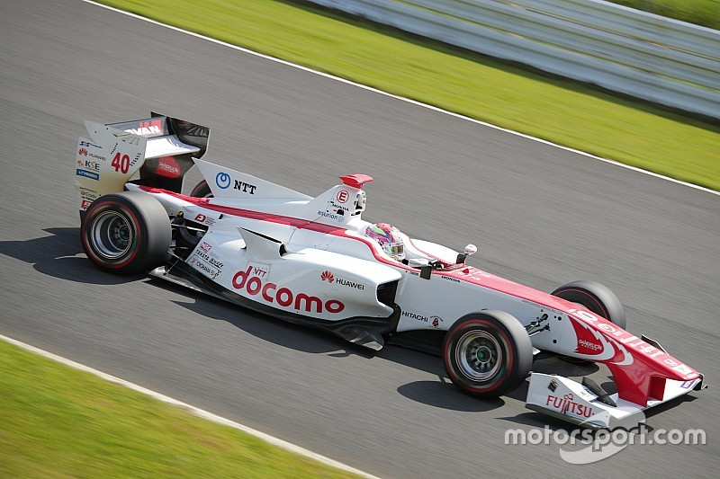Super Formula testinin ikinci gününde Nojiri lider