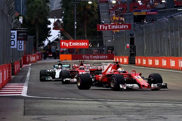 F1 2017: Die Qualifying-Duelle beim GP Singapur