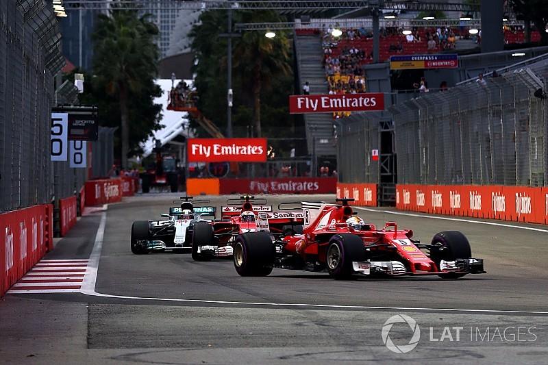 Mercedes se refuse à écarter Vettel et Ferrari de la course au titre