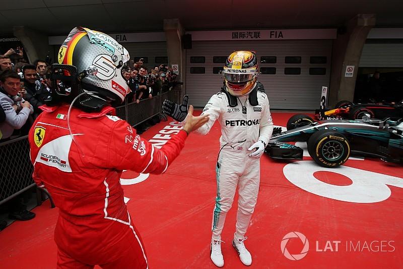 Video: El mano a mano de Hamilton y Vettel en el año