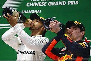 Foto's: Het weekend van Max Verstappen in China