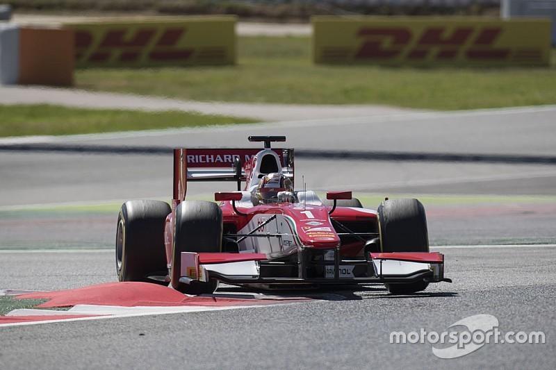 Leclerc gana la primera carrera de la F2 en Barcelona
