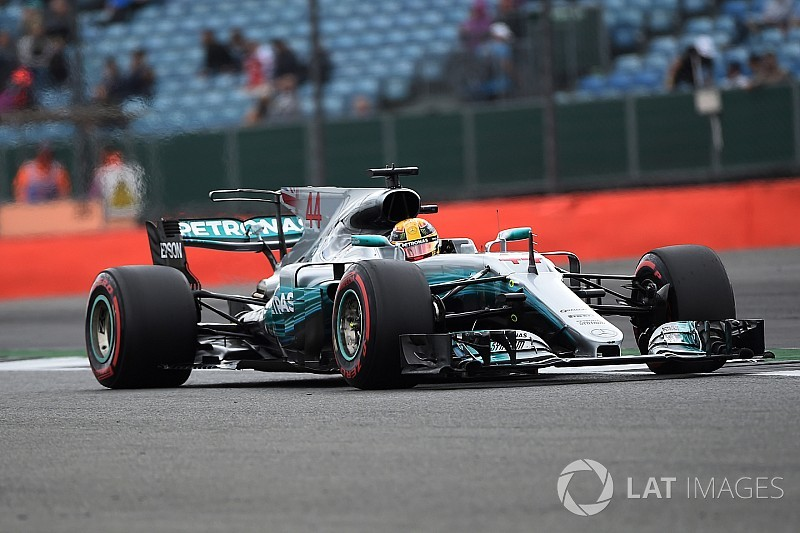 British GP: Hamilton edges out Vettel to top FP3
