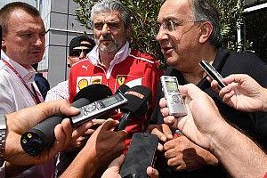 """Marchionne: """"El mundial de Ferrari no ha terminado"""""""