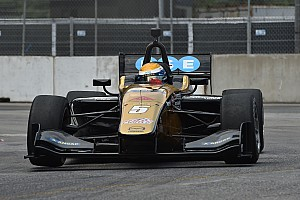 Indy Lights Reporte de la carrera Podio de Urrutia en Toronto