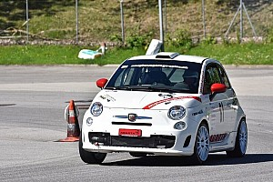 Trofei marca svizzera Ultime notizie Abarth Trofeo: Sylvain Burkhalter sul velluto a Romont