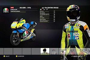 Evolusi Valentino Rossi di video game