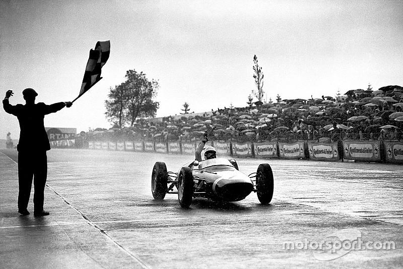 El GP número 100 de F1: Moss, intratable en Nurburgring