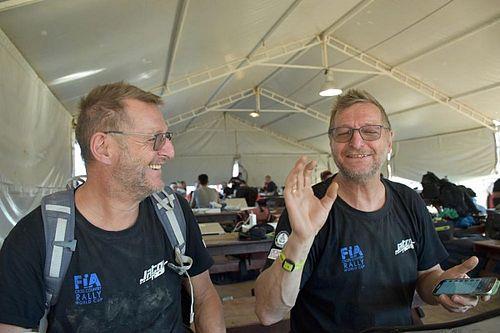 Dakar: I gemelli De Lorenzo tranquilli e riposati dopo il lungo trasferimento