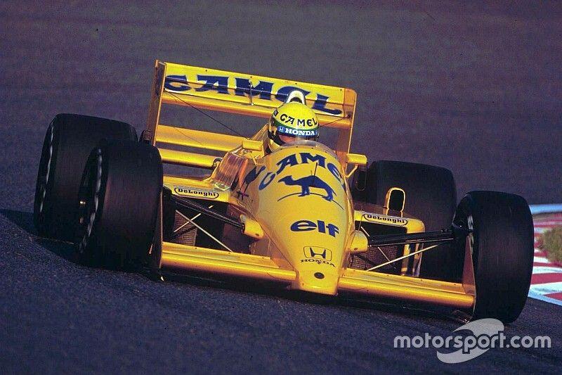 Videón Ayrton Senna összes F1-es autója: lenyűgöző darabok