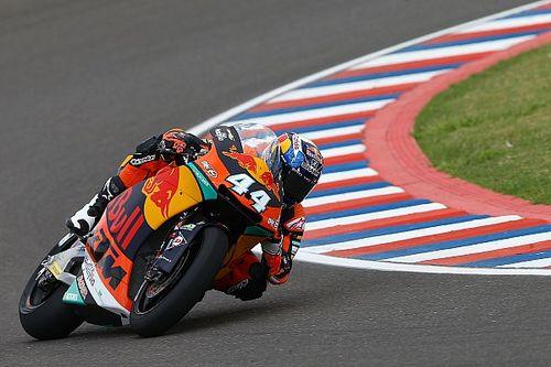 Oliveira consigue su primera pole en Moto2