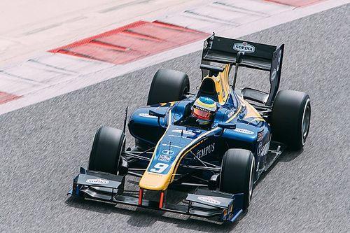 F2 Bahrein: Rowland topt training, problemen voor De Vries