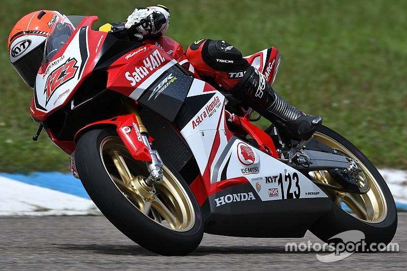ARRC Thailand: Rheza podium kedua, Gerry tidak start balapan