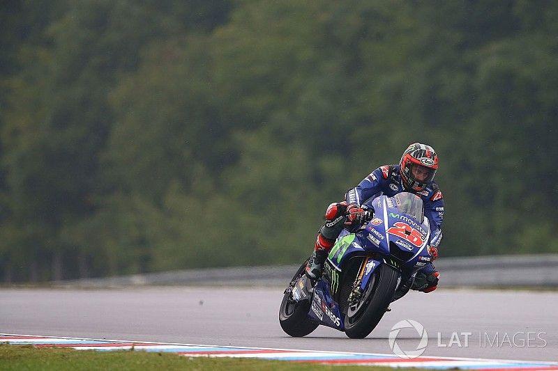 Vinales, Brno'da Yamaha'nın dönememesinden şikayetçi