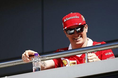 """Raikkonen dice que """"todo está bien"""" con el presidente de Ferrari"""
