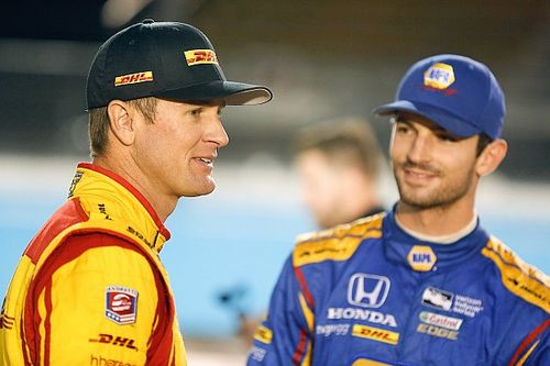 """Hunter-Reay """"hugely important"""" to Rossi's new Andretti deal"""