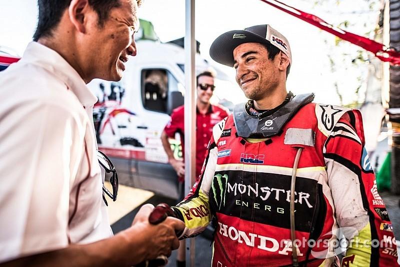 """""""Nacho"""" Cornejo ya es piloto oficial de Honda"""