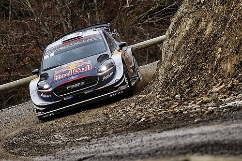 Monte Carlo WRC: Ogier pulls clear despite wheel damage
