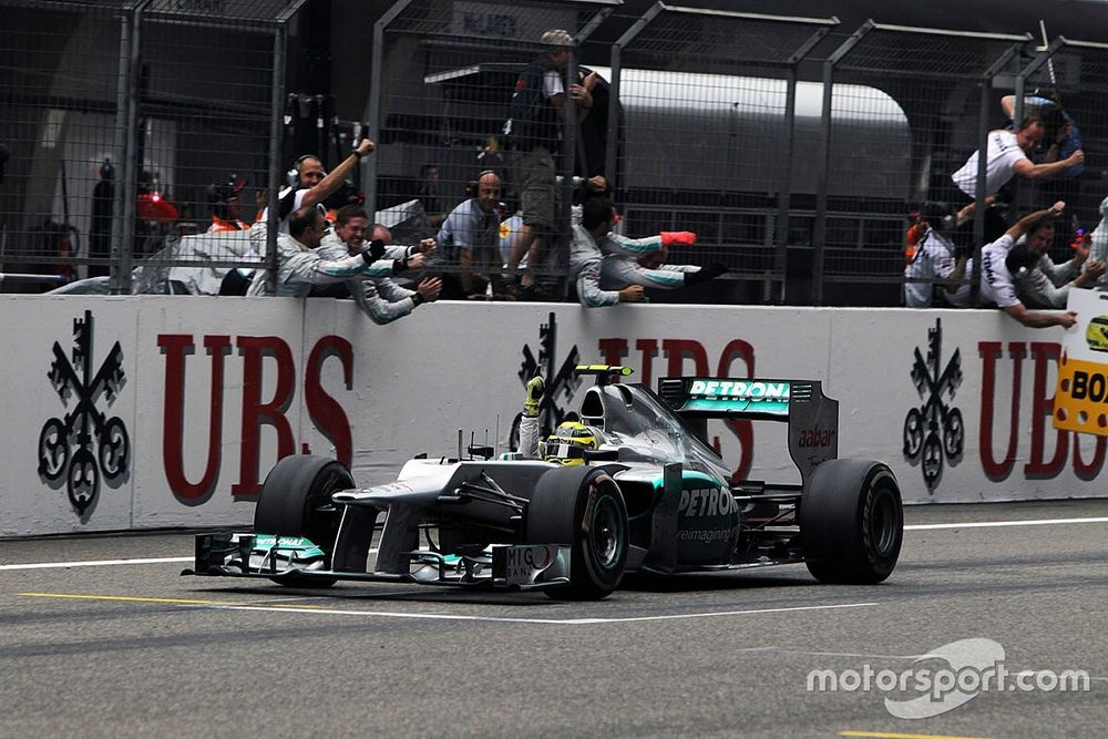 How Mercedes' Shanghai 2012 win was a sign of things to come