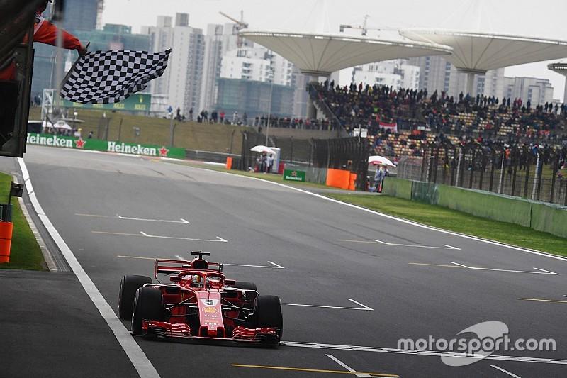 Феттель після поулу в Китаї: Болід Ferrari дивовижний