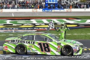 NASCAR in Fort Worth: Texas-Triumph für Kyle Busch