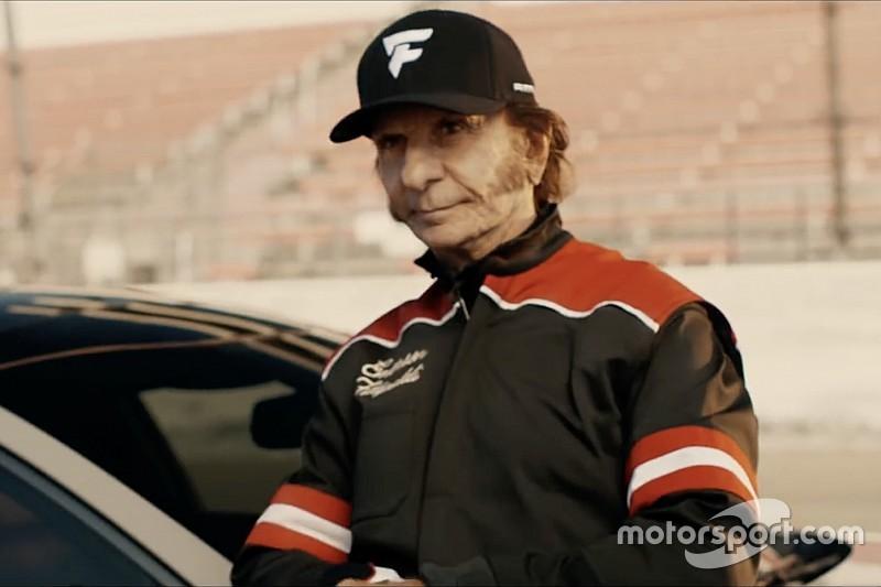 Fittipaldi estrela comercial com vocalista do Aerosmith