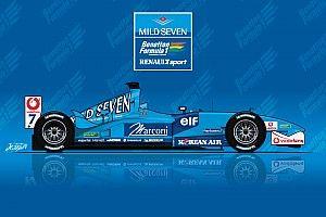 Quand Benetton présentait la dernière F1 de son histoire