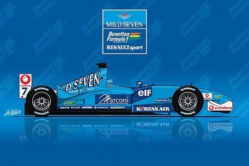 Техническое ретро: последняя страница в истории Benetton