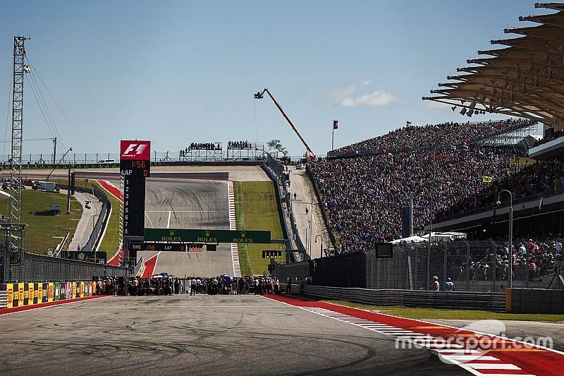 La parrilla de salida del GP de Estados Unidos 2018, Alonso gana una plaza