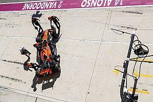 """Alonso: """"Cuando vamos 15º el motor no falla y yendo 7º, sí"""""""