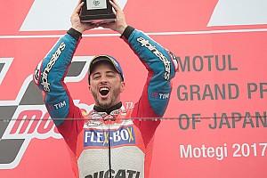 MotoGP 速報ニュース マルケスの攻撃を予想していたドヴィツィオーゾ「すぐに戦略を考えた」