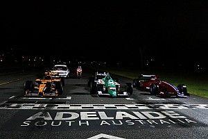VIDEO: La carrera nocturna de Fórmula 1 en Adelaida