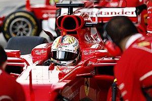 Ferrari lleva un importante paquete de mejoras en el coche de Vettel