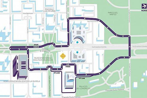 L'ePrix di Roma scioglie le riserve: ecco il tracciato definitivo