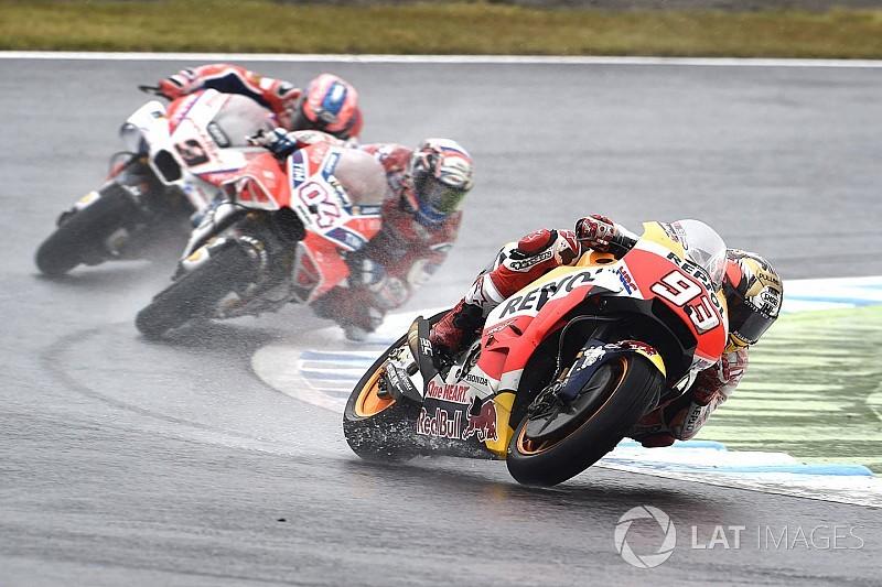 """""""Angsteinflößend"""": Marc Marquez analysiert Honda-Regenschwäche"""