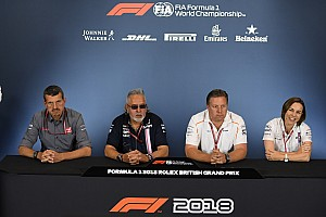 Formula 1 Press conference British GP: Friday's press conference
