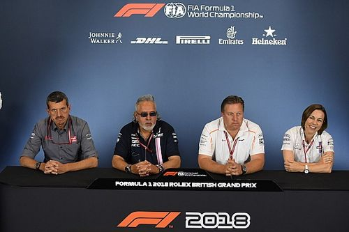 British GP: Friday's press conference