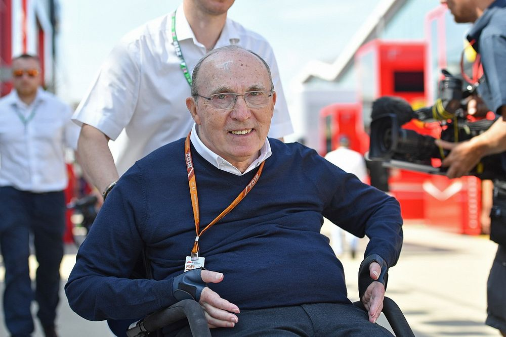 Sir Frank Willams wróci na Silverstone