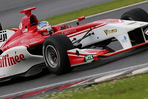 Fuji Super Formula: Cassidy claims pole in tricky wet qualifying