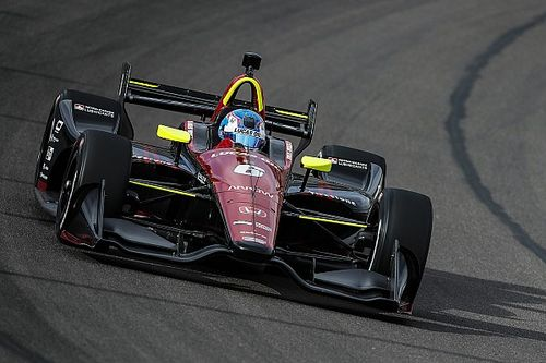 Robert Wickens scores podium finish in first oval race