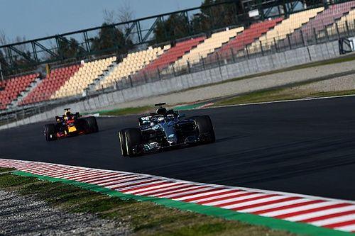 GALERI: Tes F1 Barcelona II hari pertama