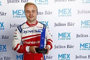 Formula E Jelentés az időmérőről Rosenqvist jókora előnnyel nyerte a Formula E mexikói időmérőjét
